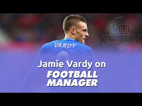Jamie Vardy on Football Manager (FM2010 - FM2016)
