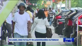 18 cases, 1 fatality in Manhattan Legionnaires` outbreak