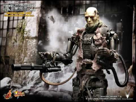 T 600 Terminator Salvation TERMINATOR SALVATION HOT TOYS 1/6th scale T-600 Endoskeleton Weathered ...