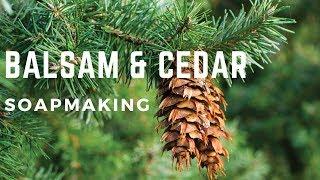 Balsam & Cedar soap making | FuturePrimitive Soap Co.
