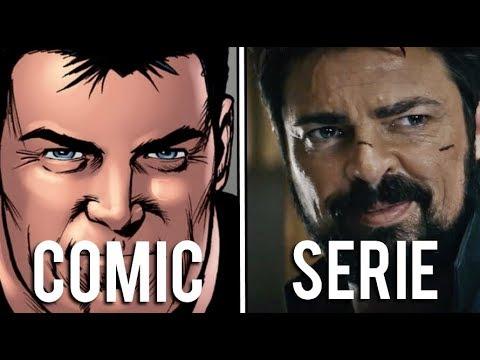 The Boys: Diferencias entre los cómics y la serie