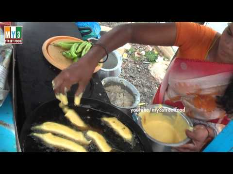 Street Food - Mirchi Bajji - SOUTH INDIAN SPECIAL FOOD