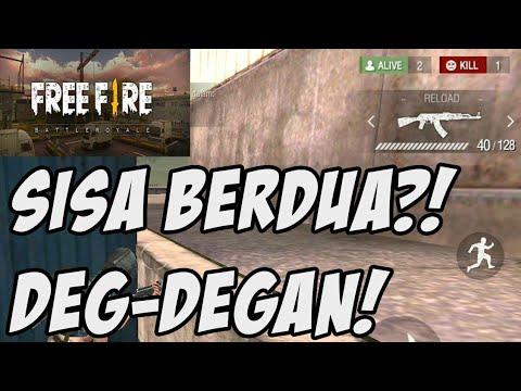 SISA 1VS1! MENANG GAK YAH?! - FREE FIRE Battle Royale