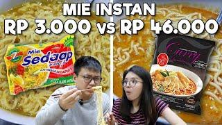 MIE INSTAN RP 3.000 Vs RP 46.000 !! WORTH IT ??