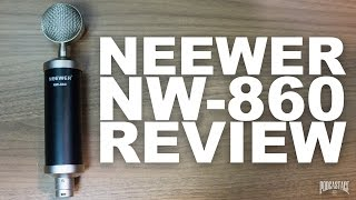 Neewer NW-860 Microphone Set Review / Test