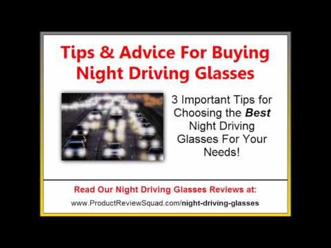 Best Night Driving Glasses   Tips For Buying Anti-Glare Glasses