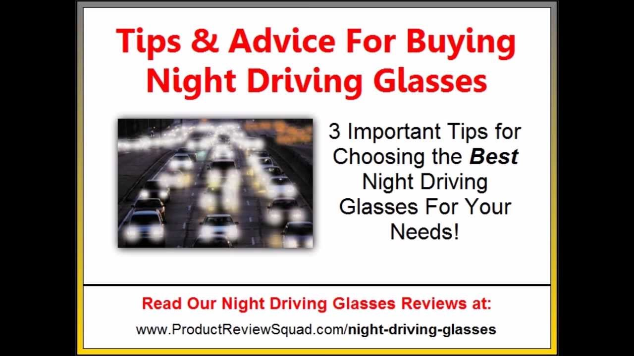 Best Night Driving Glasses Anti Glare Youtube