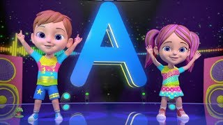 ABC Hip Hop | Best Sing Along Songs & Nursery Rhymes | Music for Kids | Cartoons by Little Treehouse