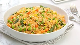 Cook #WithMe | Veggie Fried Rice | Quick + Easy Pantry Recipe