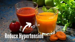 Drink This Simple Juice To Manage Hypertension   Healthy Living Tips