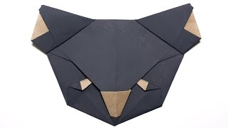 Origami Koala Bear. Origami for Kids