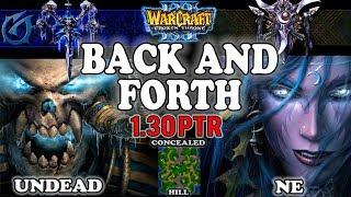 Grubby | Warcraft 3 TFT | 1.30 PTR | UD v NE on Concealed Hill - Back and Forth