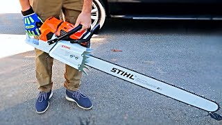 Most Powerful STIHL Chainsaw Ever Made