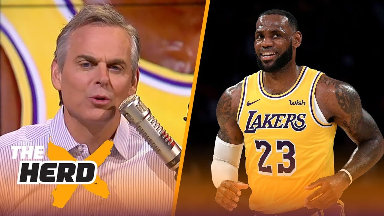 Colin Cowherd reacts to LeBron's home preseason debut for the Lakers | NBA | THE HERD