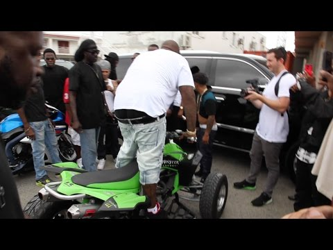 Rick Ross BikeLife in SXM Fearless Riders | Shot by @icefromsxm