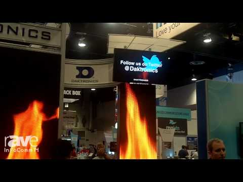 InfoComm 2014: Daktronics Highlights Its Show Control Display Integration System