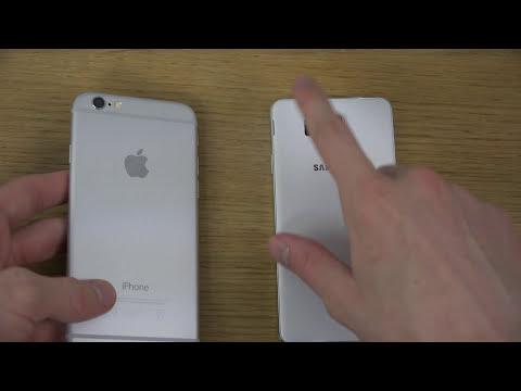 iPhone 6 vs. Samsung Galaxy Alpha - Review (4K)