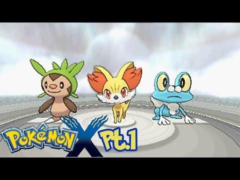 Guida Pokémon X HD PT 1 Linizio di una grande avventura