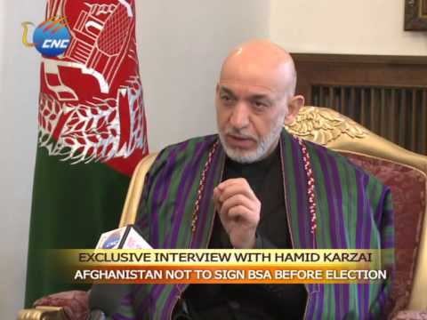 Exclusive - Karzai: Afghanistan not to sign BSA before election