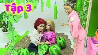 CÔ BÉ HIẾU THẢO  _ TẬP 3 _ Mẹ Con Bà Hội Đồng Tham Lam (Phim Giáo Dục Thiếu Nhi) búp bê Barbie