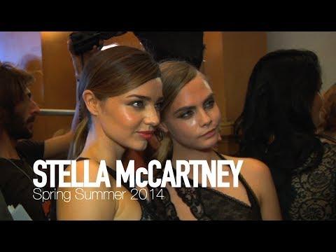 STELLA McCARTNEY Spring/Summer 2014 Cara Delevingne, Miranda Kerr | MODTV