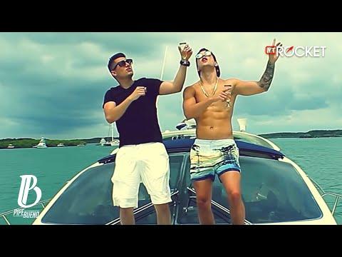 Pipe Bueno Ft Maluma - La Invitación | Lyric Video