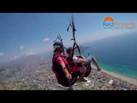 Параглайдинг в  Алании (Paragliding in Alanya)
