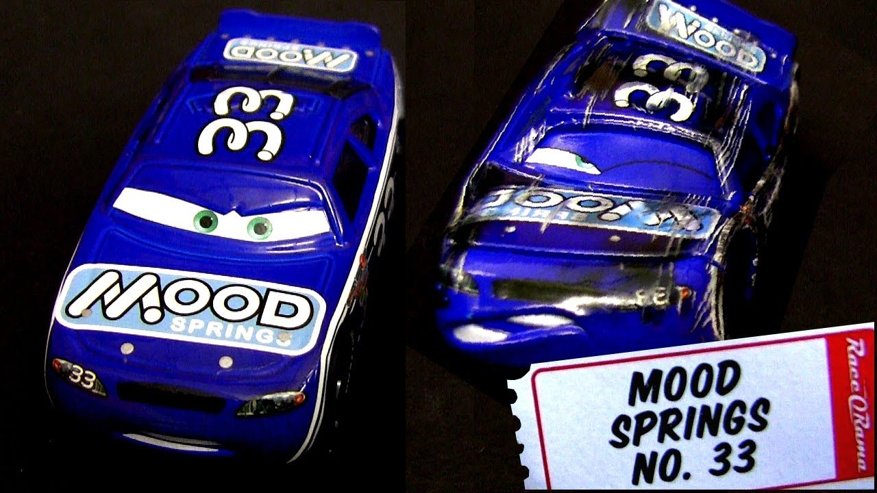Cars 2 Mood Springs Diecast 33 With Synthetic Rubber