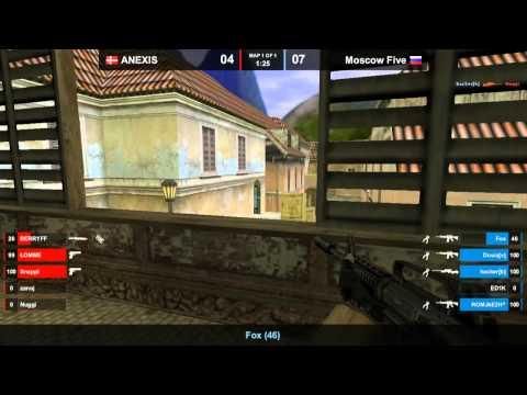 CS 1.6 FCL 2012 - MoscowFive vs. Anexis @ inferno