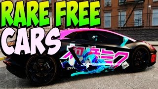 GTA 5 Online - RARE CARS FREE Location After Patch 1.17 - Secret Rare Vehicles (GTA 5 Cars Guide)