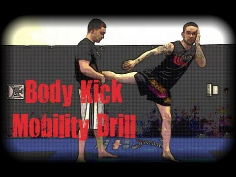 Muay Thai - Body Kick Mobility Drill Image 1