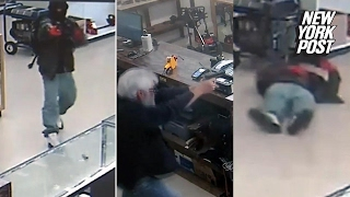 Armed robbers go after gun store, get shot by owners