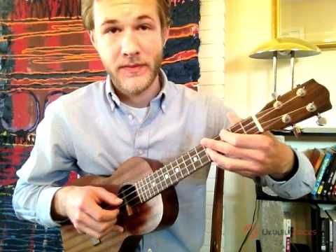 "Fingerpicking ""Silent Night"" on the Ukulele"