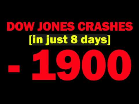 Dow Jones CRASHES 1900 Points In The Last 8 Days -- When Will The Stock Market Stabilize? -- Report