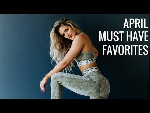 APRIL FAVORITES | Beauty, Fitness, Food & More!