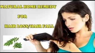 How to stop Hair Loss very fast | Curry Leaves Home remedy to stop Hair loss(Hindi)