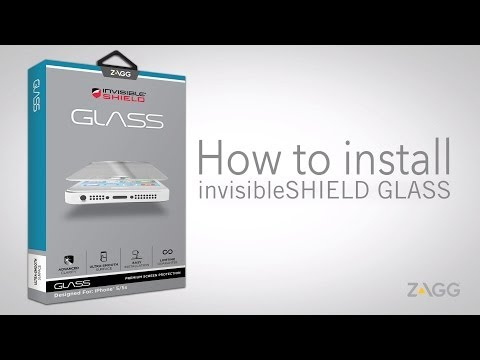 invisibleSHIELD Glass - Installation Walkthrough