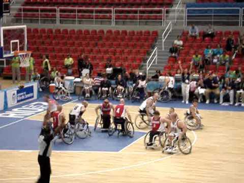 Wheelchair Basketball Game Wheelchair Basketball Usa vs