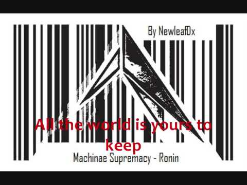 Machinae Supremacy - Ronin