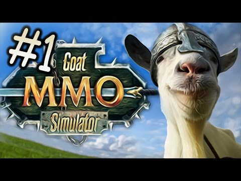 GOAT MMO // MICROWAVE GOAT?! - Goat Simulator - Part 1
