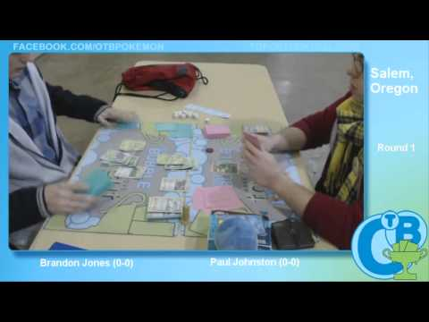 Pacific Northwest Regionals 2014 Round 1 - Brandon Jones (Virizion/Genesect) vs Paul Johnston (Blast
