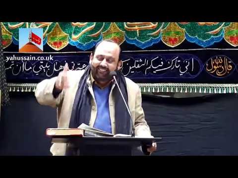 Zakir Zafar Shah   Hussainia Imambargah - Birmingham (UK) - 29th November 2015