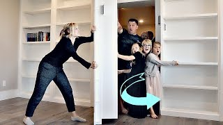 I TRAP my Family in our SECRET ROOM for 24 HOURS!