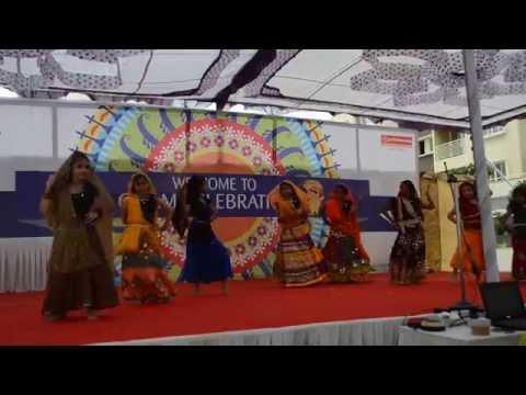 Malayalam Folk Dance During Greenage Onam 2014 video