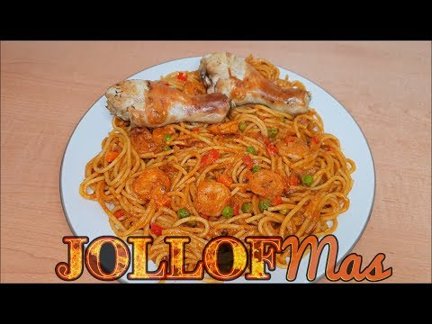 Coconut Spaghetti Jollof  JOLLOFMas Day 5 | All Nigerian Recipes