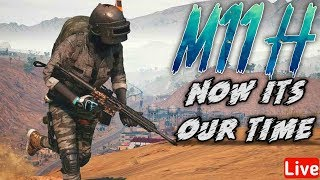 🔴 PUBG  LIVE | Sniping Challenge &  Airdrop Hunting | Rush Game Play | M11H Gaming |