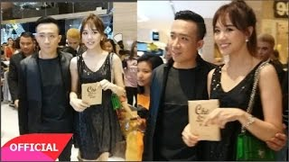 """Vợ chồng Trấn Thành - Hari Won quấn quýt dự ra mắt phim """"chờ em đến ngày mai""""(Tin tức Sao Việt)"""
