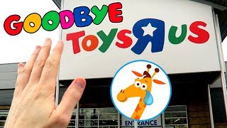 RIP TOYS R US! TOY HUNT FOR WWE FIGURES