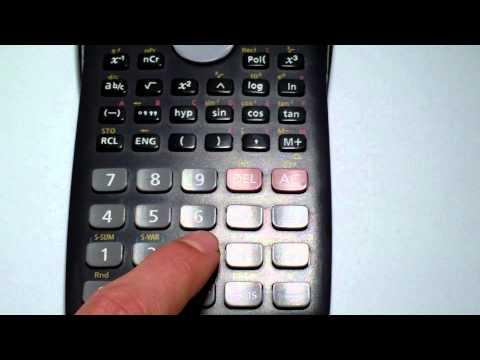 Resetear calculadora casio fx 82 MS