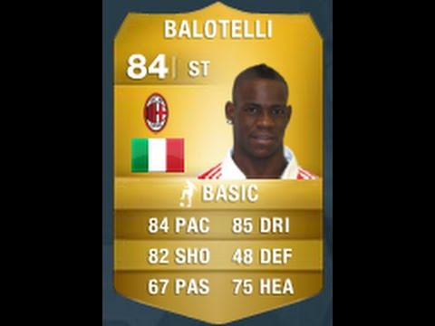 FIFA 14 Balotelli 84 Player Review & In Game Stats Ultimate Team